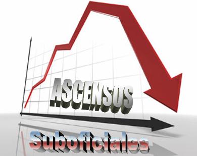 Disminución del número de ascensos en la Escala de Suboficiales del
