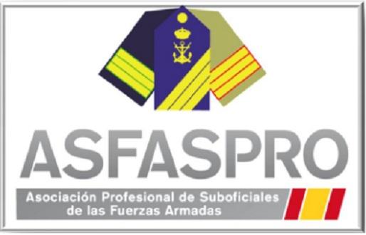 ASFASPRO considera inadmisible la falta de acuerdo de la Subcomisión de Defensa en la reforma de la Ley de la Carrera Militar